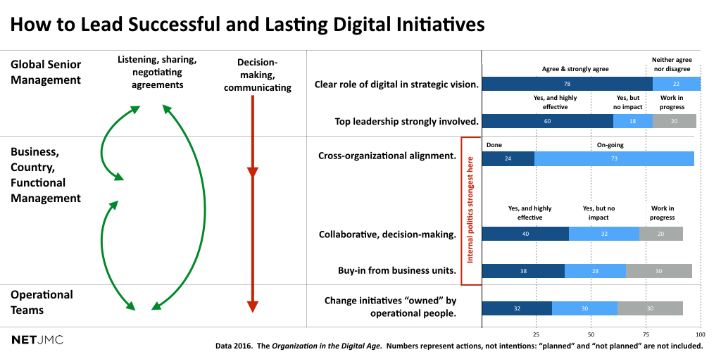 Successful lasting digital initatives