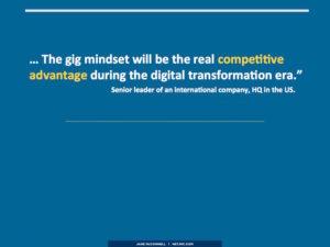 gig mindset competitive advantage
